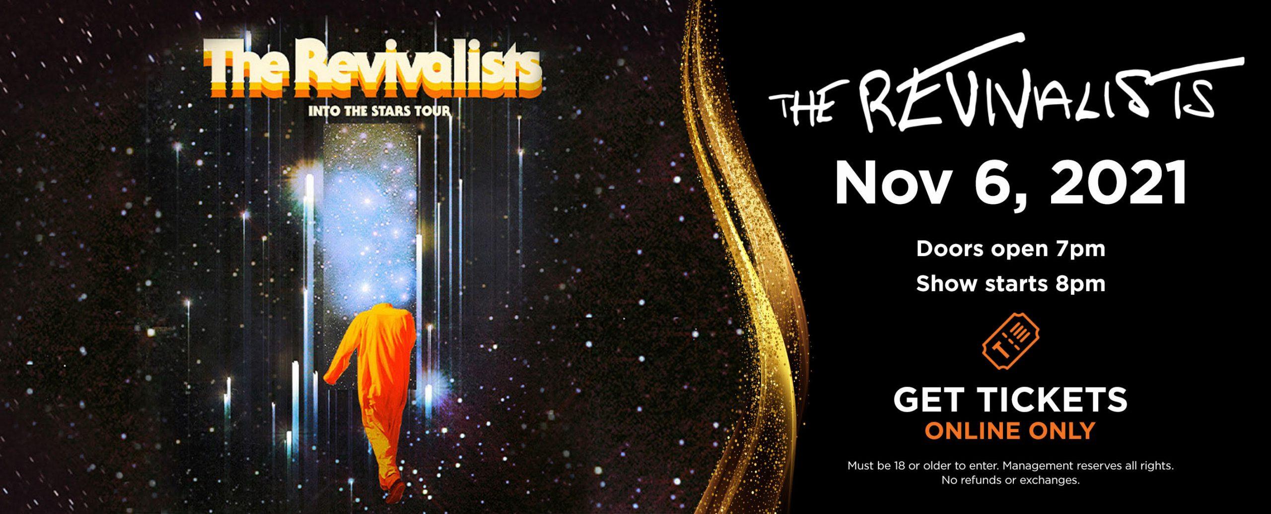 The Revivalists - Nov 6, 2021 | Doors open 7pm, Show starts 8pm